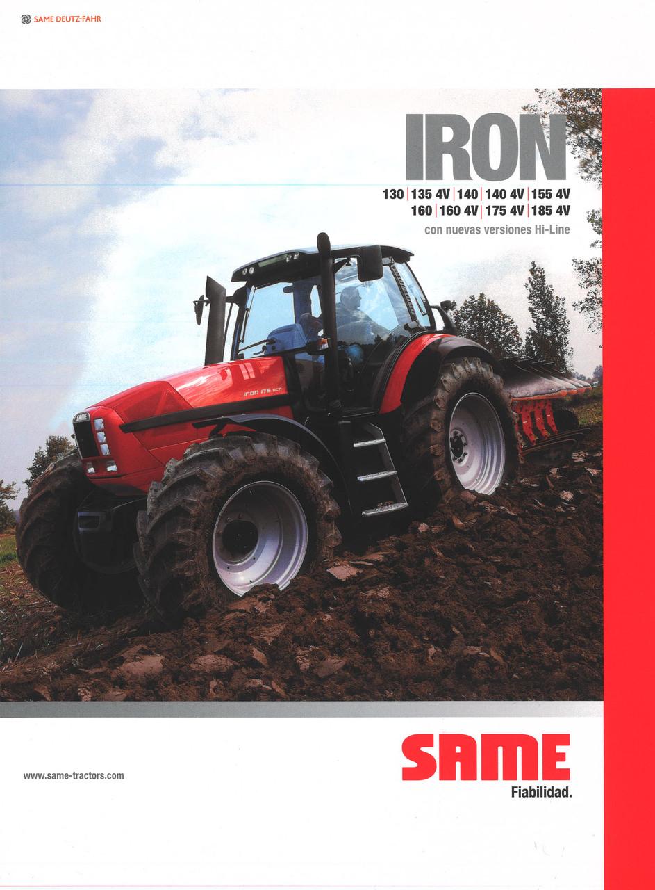 IRON 130 - 135 4V - 140 - 140 4V - 155 4V - 160 - 160 4V - 175 4V - 185 4V