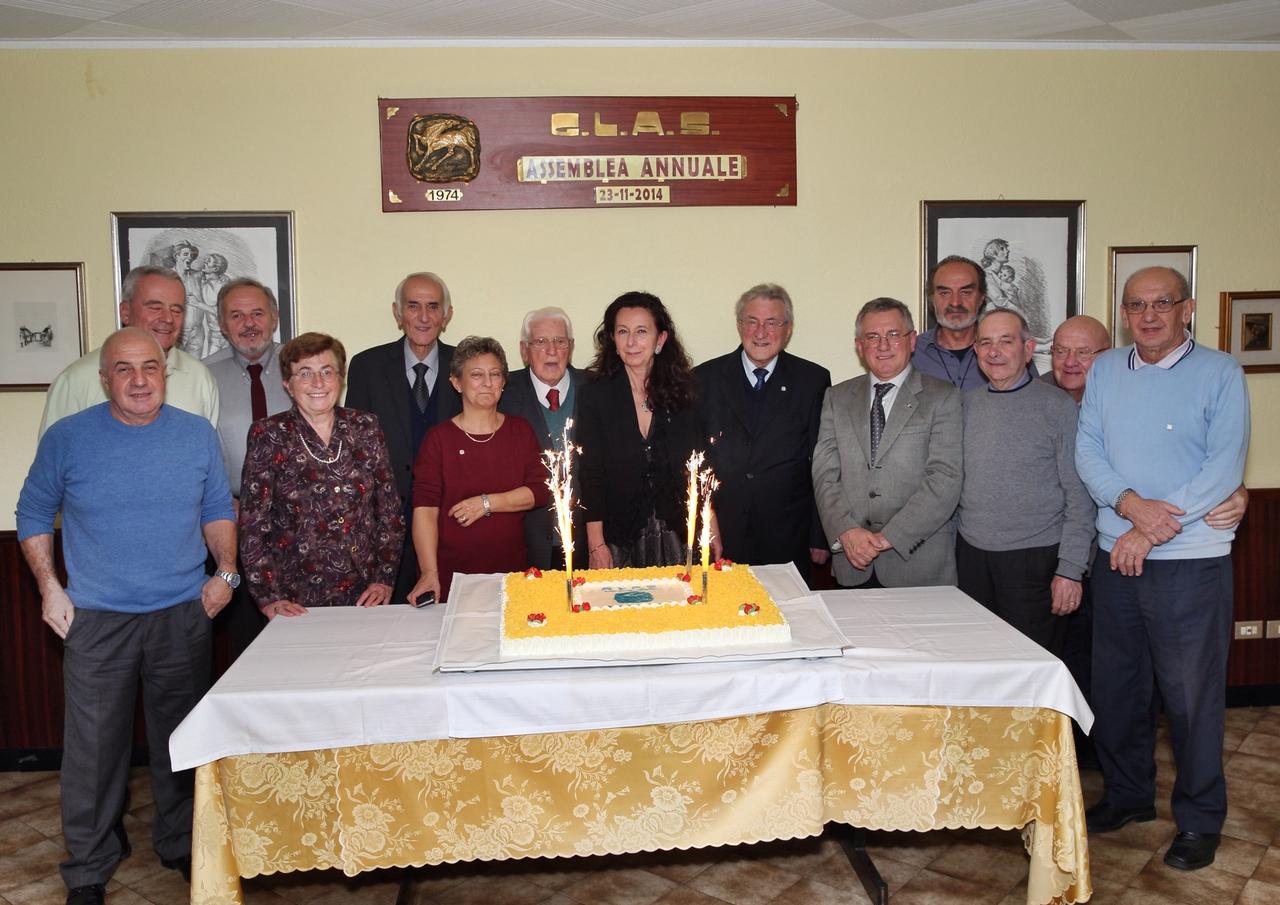 40esimo anniversario di fondazione del Gruppo G.L.A.S.