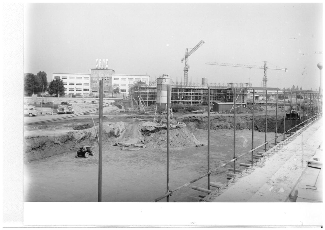 Stabilimento Same in costruzione