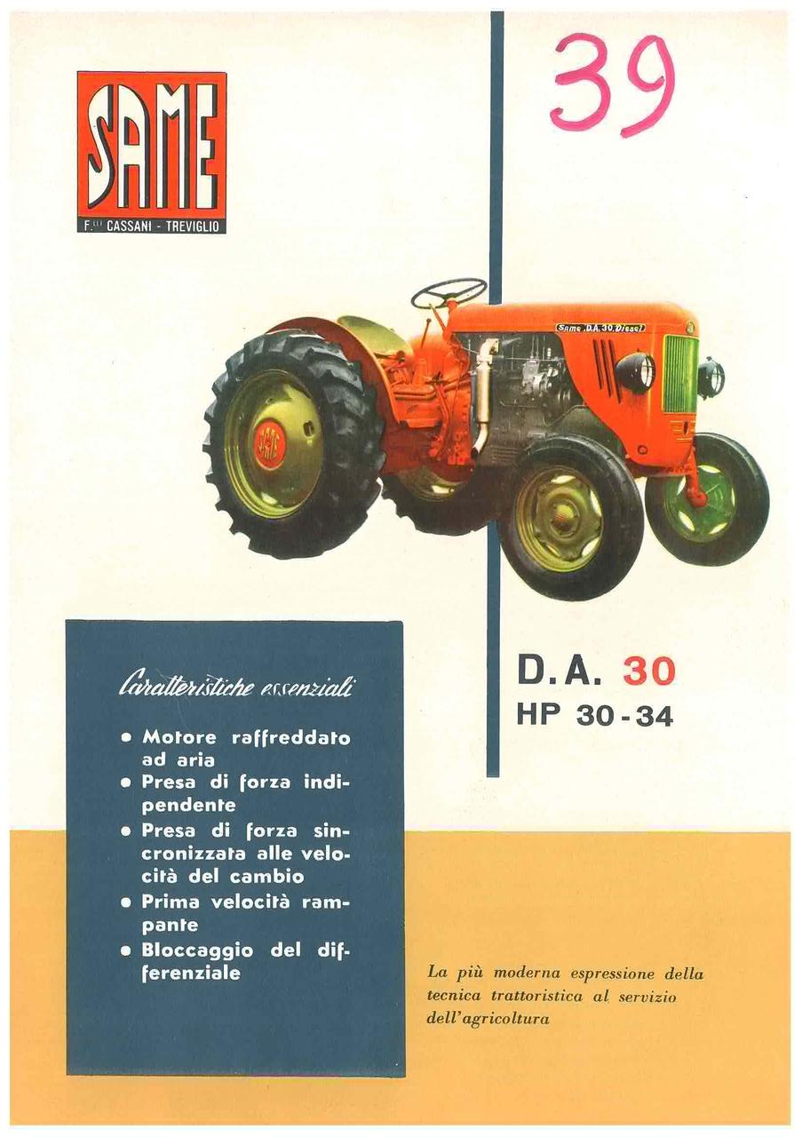 DA 30 HP 30 - 34
