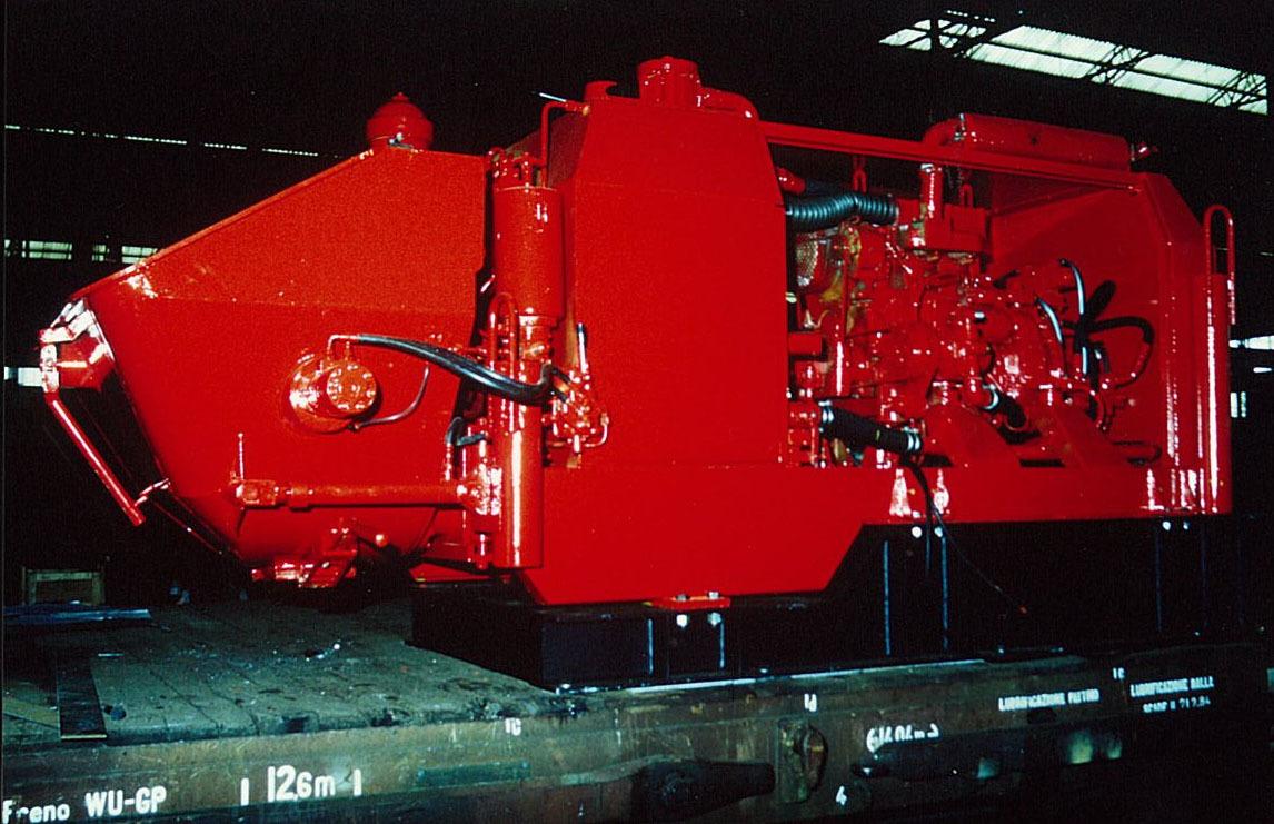 Motore ADIM 916.3 A per pompa calcestruzzo