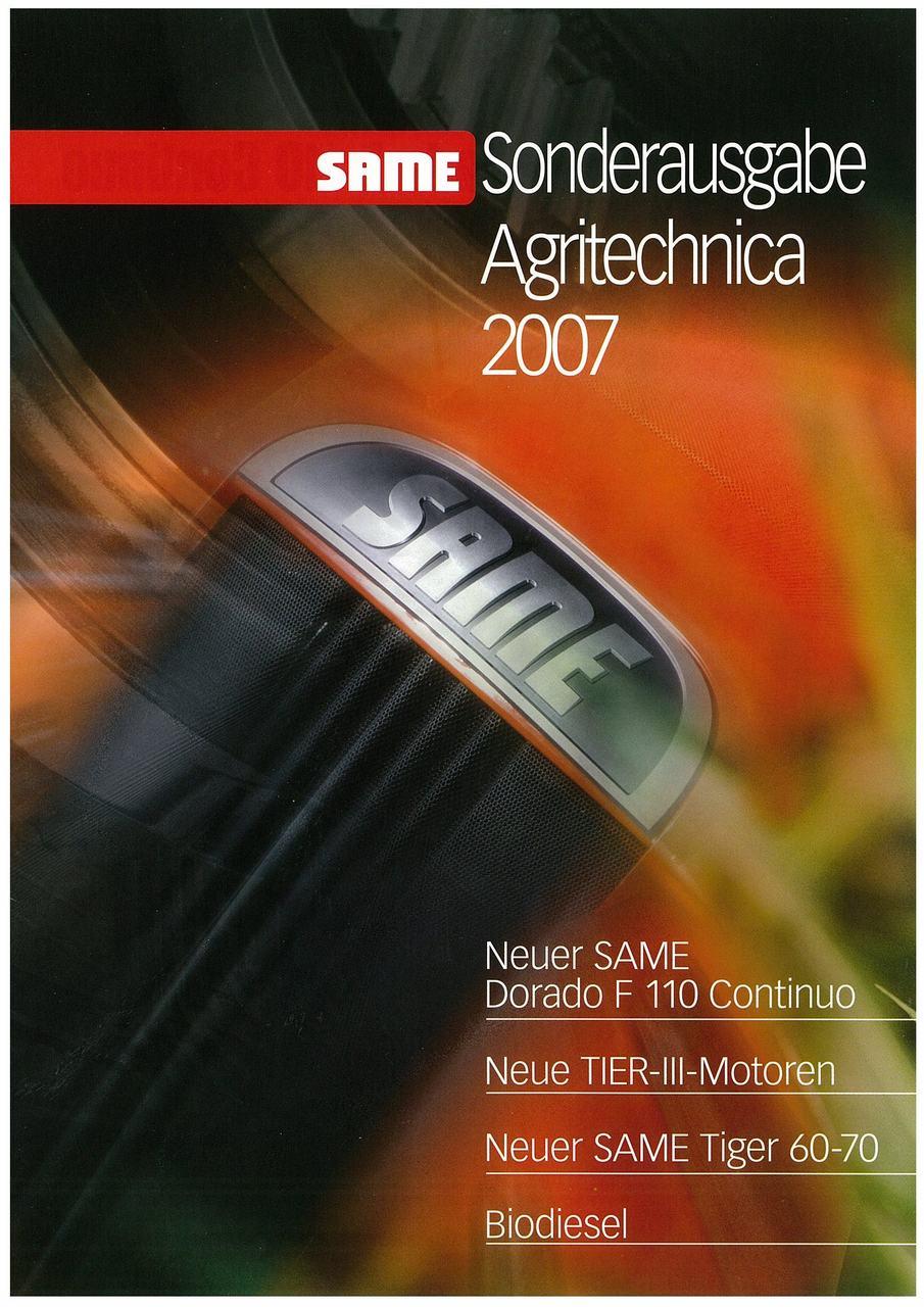 Sonderausgabe AGRITECHNICA 2007