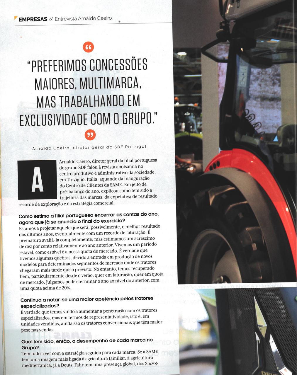 Entrevista Arnaldo Caeiro