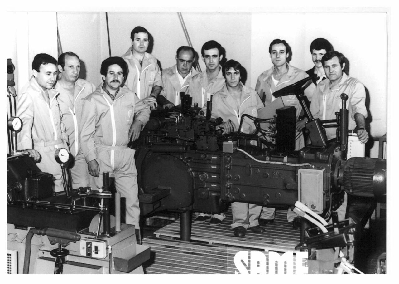 Corso meccanici SAME - Filiale SAME Iberica