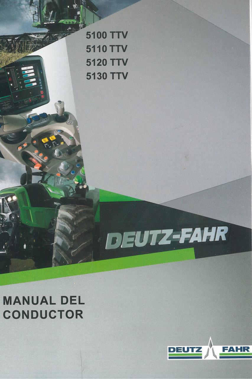 5100 TTV - 5110 TTV - 5120 TTV - 5130 TTV - Manual del conductor
