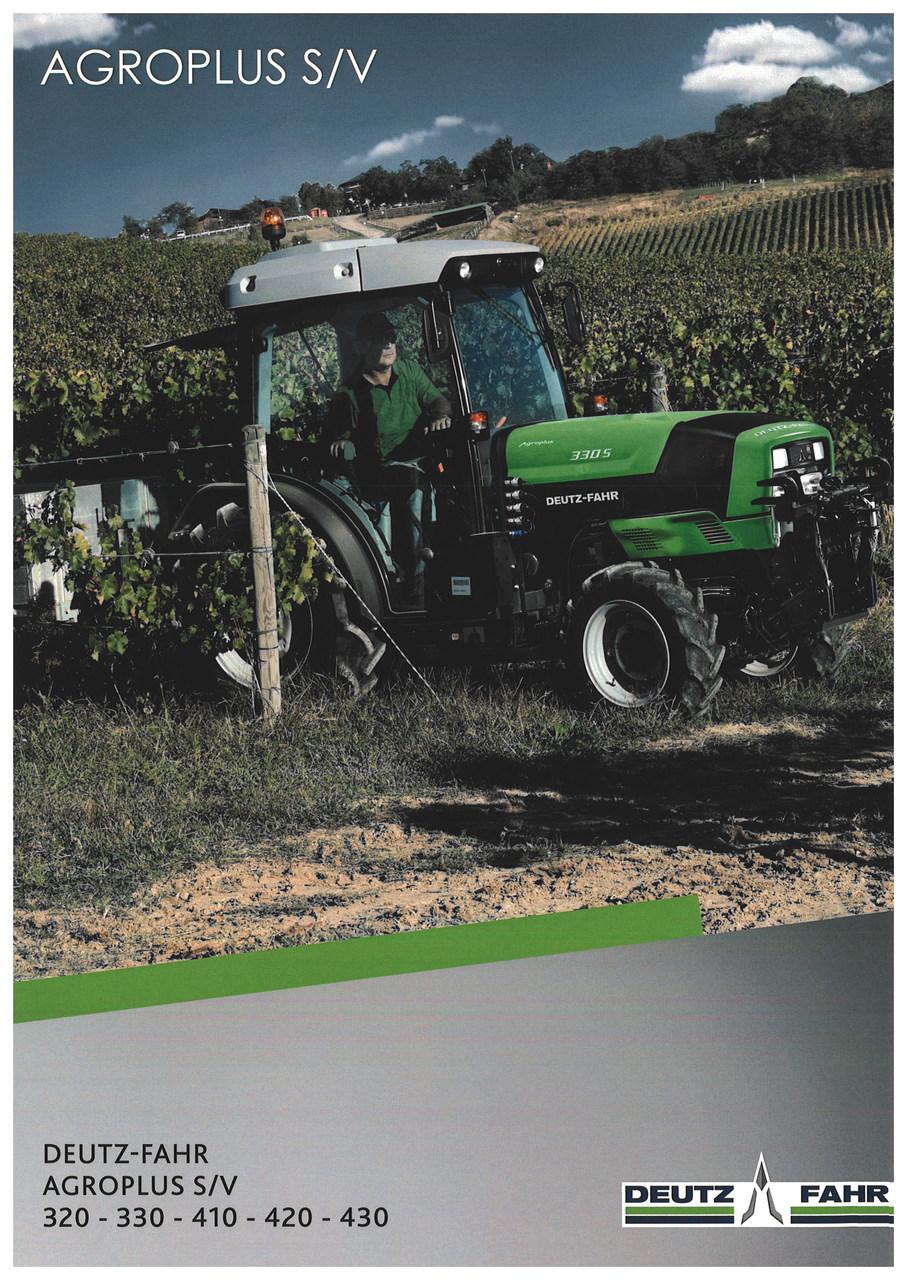 AGROPLUS S/V 320 - 330 - 410 - 420 - 430