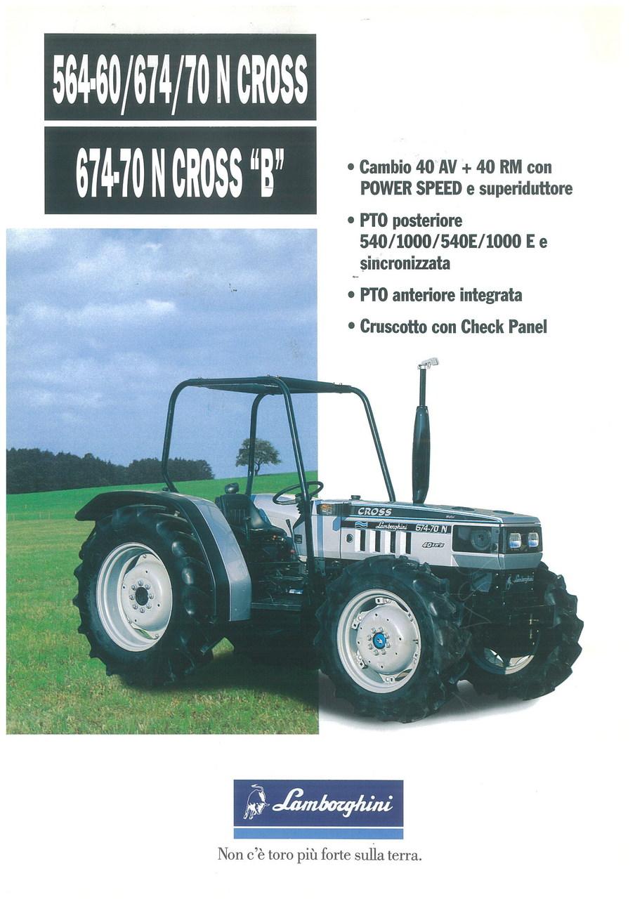 """564.60 - 674.70 N CROSS - 674.70 N CROSS """"B"""""""