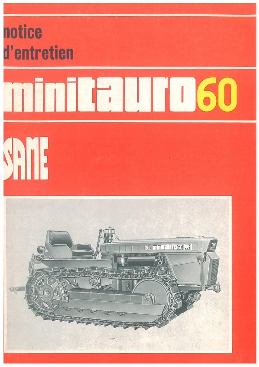 MINITAURO 60 C - Utilisation et entretien