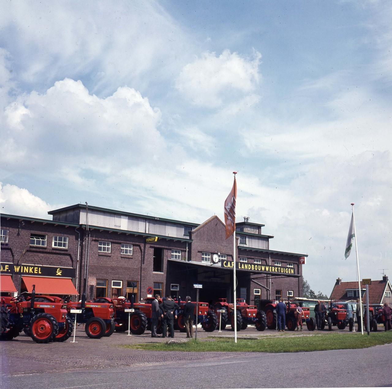 [SAME] trattori SAME in Olanda (lett. Cebeco 14/7/1972)