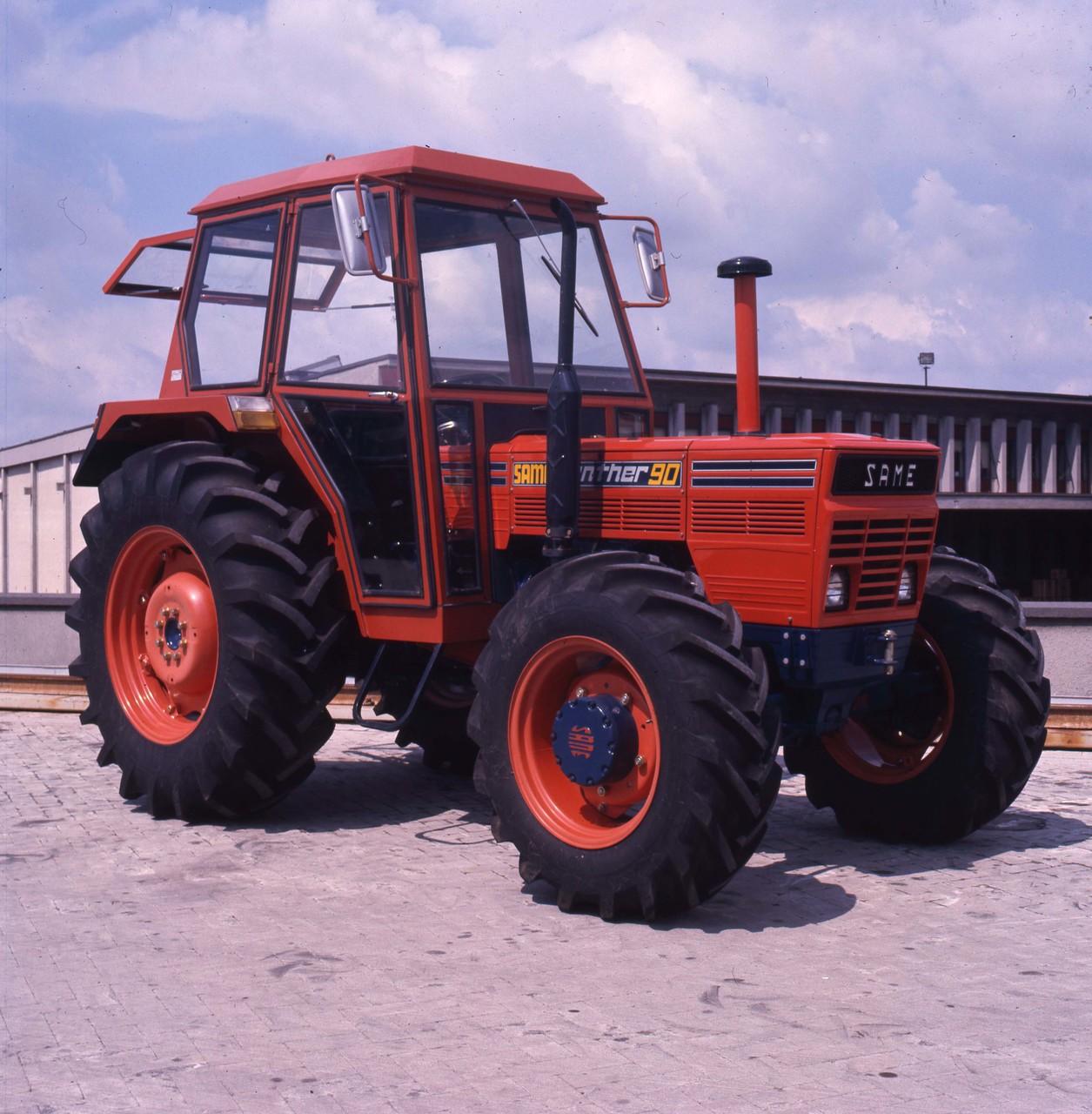 [SAME] trattore Panther 90 4RM presso lo stabilimento di Treviglio