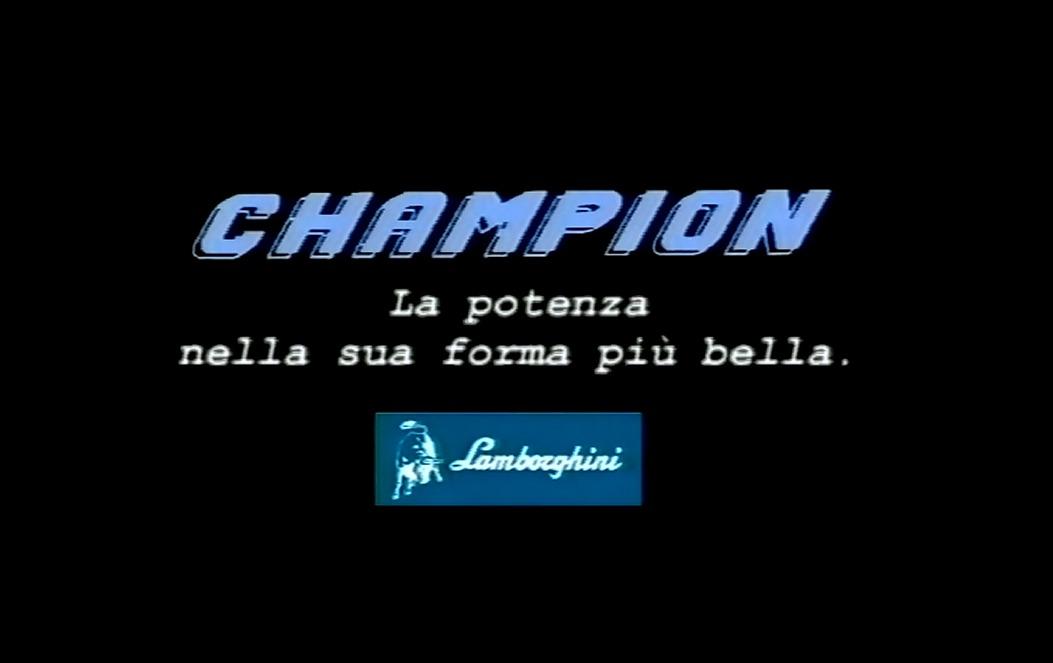 Lamborghini Champion