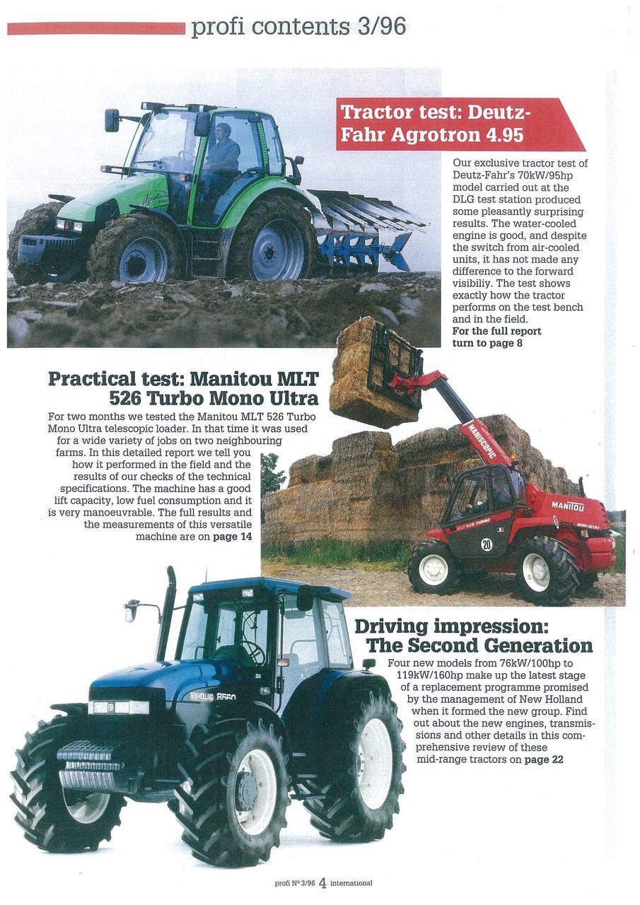 Tractor test: Deutz.Fahr Agrotron 4.95