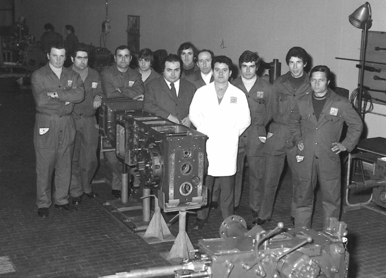 Corso meccanici - Gruppo italiani