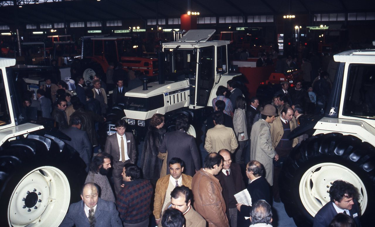 EIMA 1983 e convention concessionari Lamborghini
