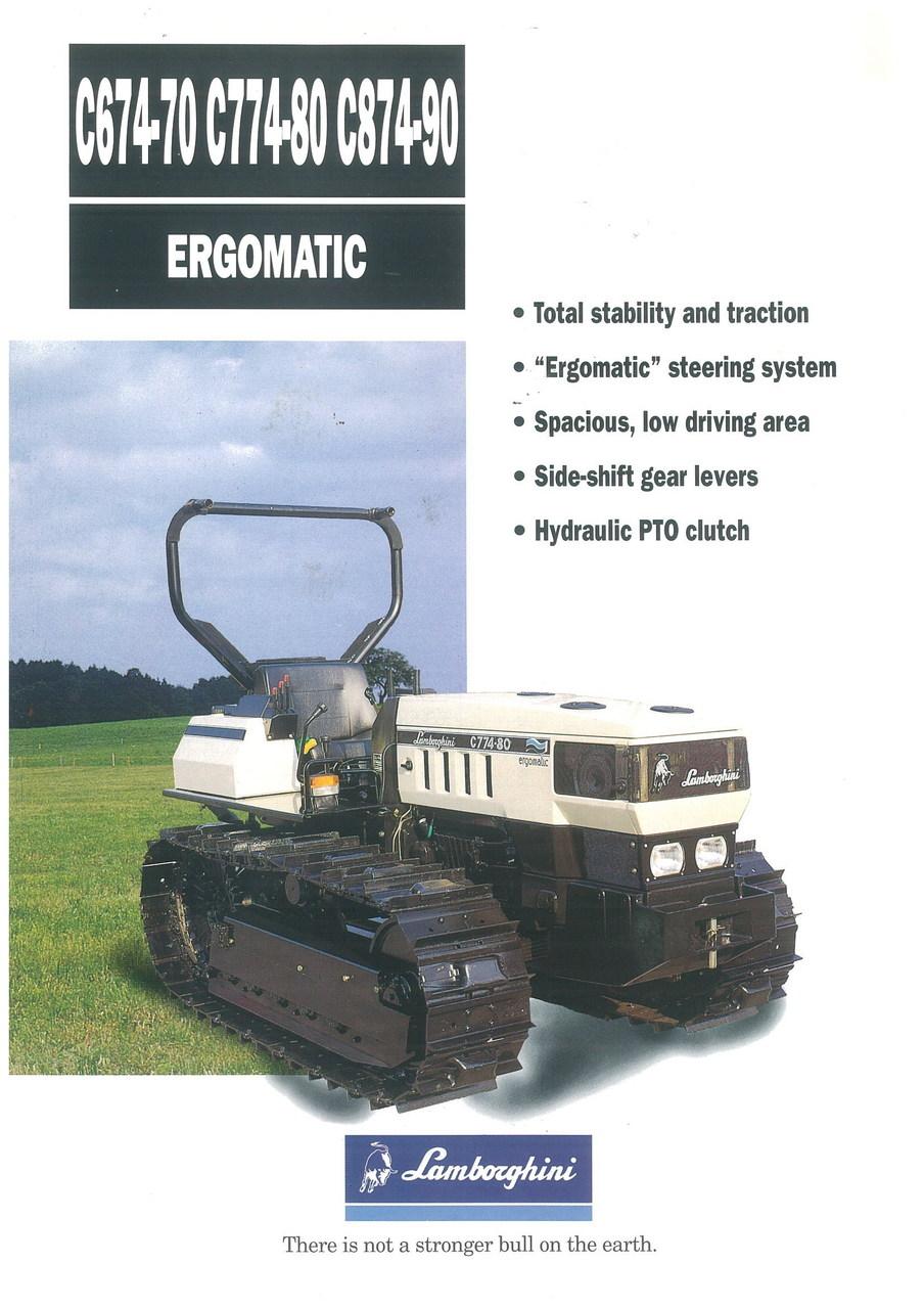 C 674/70 - C 774/80 - C 874/90 ERGOMATIC