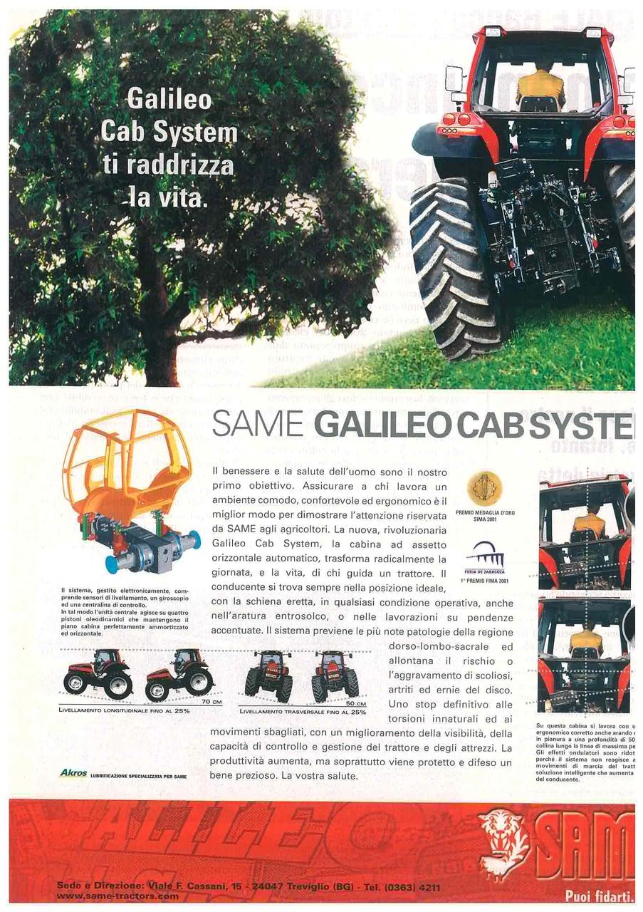 GALILEO CAB SYSTEM - Ti raddrizza la vita.
