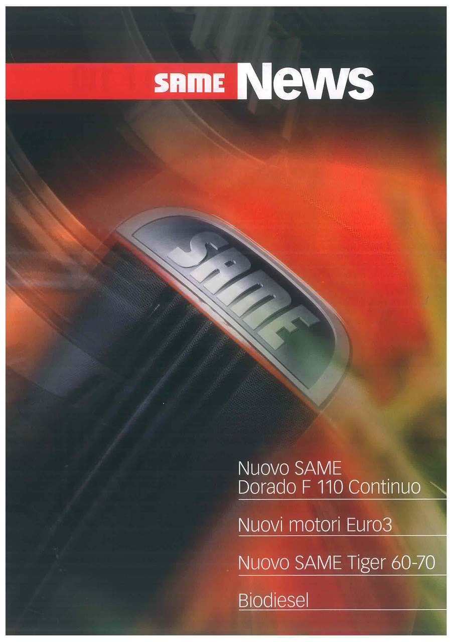DORADO F 110 CONTINUO - TIGER 60-70 - NUOVI MOTORI EURO 3