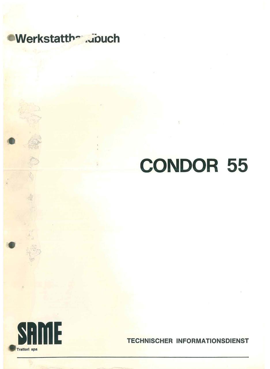 CONDOR 55 - Werkstatthandbuch