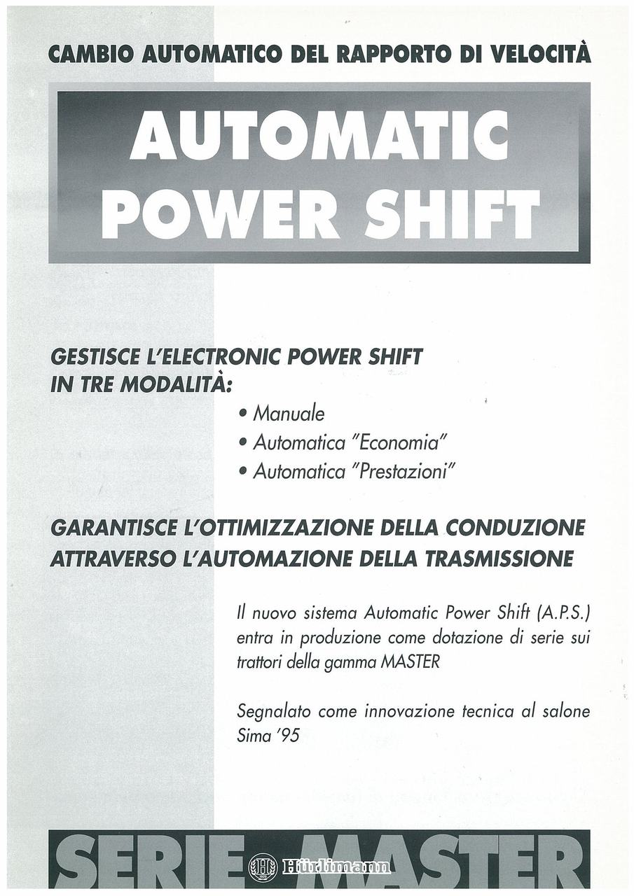 AUTOMATIC POWER SHIFT