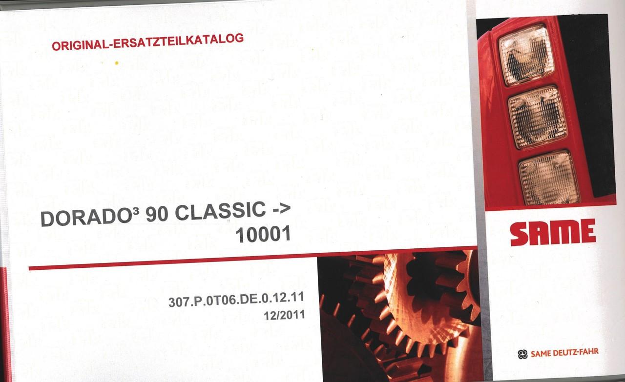 DORADO³ 90 CLASSIC ->10001 - Original-Ersatzteilkatalog