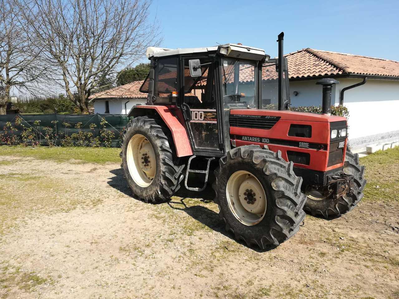 [SAME] trattore Antares 100 presso Samperone (PV)