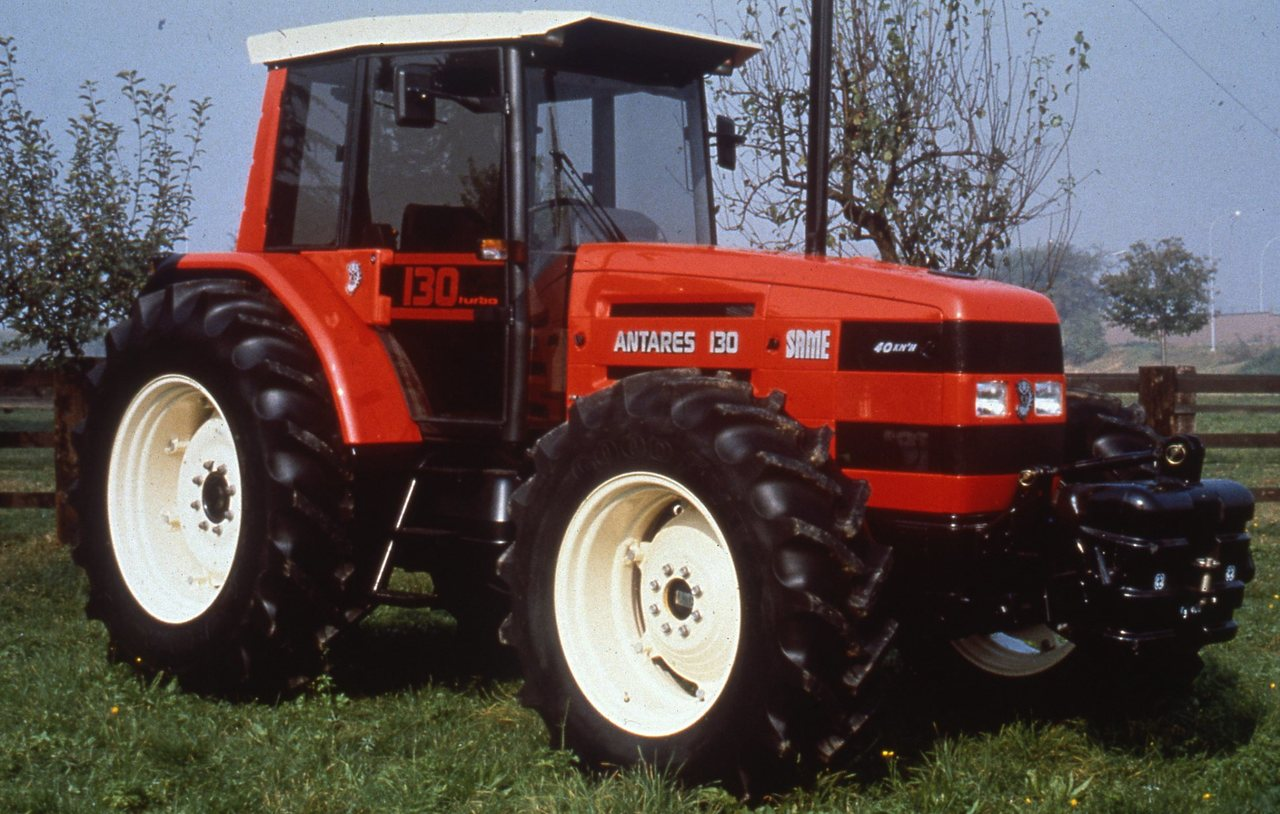 [SAME] trattori Explorer 90 Turbo e Antares 130
