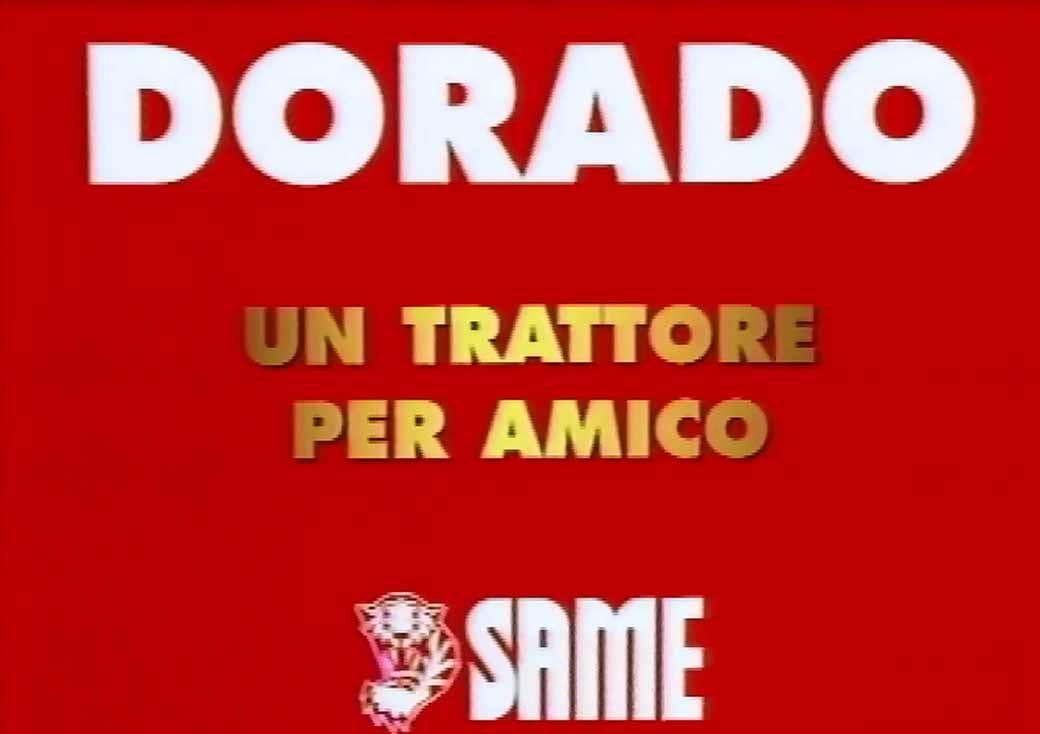 SAME Dorado Backstage 1995 - Un trattore per amico