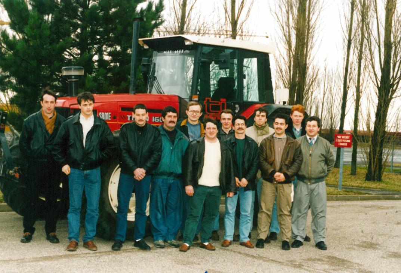 Stage AFE 100-135 organizzato dalla filiale SAME France del Gruppo SLH