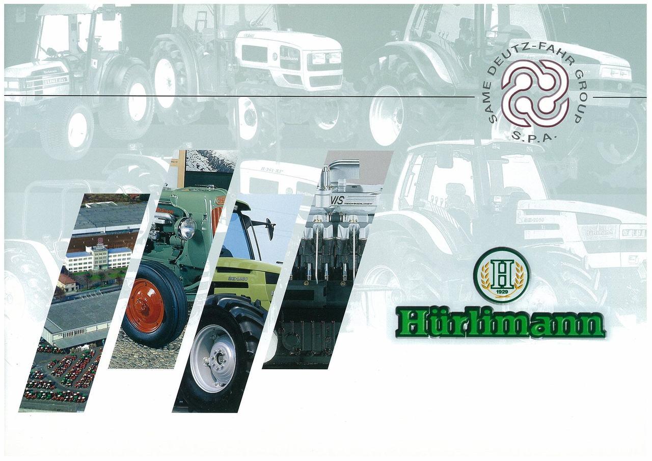 Huerlimann - Catalogo con gamma dei prodotti e dei servizi