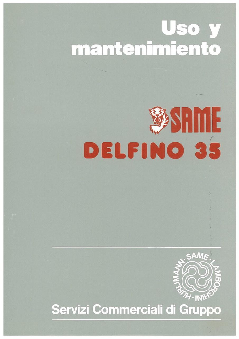 DELFINO 35 - Uso y manutencion