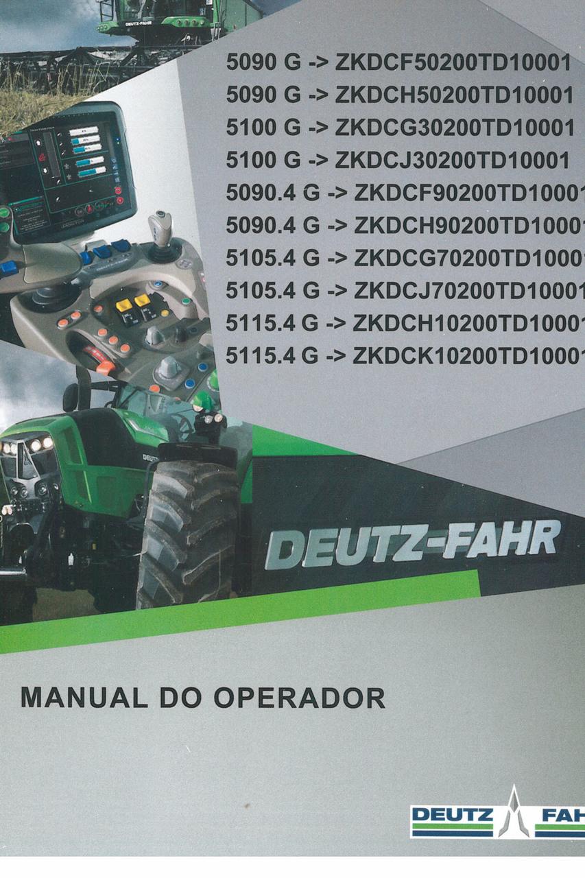 5090 G ->ZKDCF50200TD10001 - 5090 G ->ZKDCH50200TD10001 - 5100 G ->ZKDCG30200TD10001 - 5100 G ->ZKDCJ30200TD10001 - 5090.4 G ->ZKDCF90200TD10001 - 5090.4 G ->ZKDCH90200TD10001 - 5105.4 G ->ZKDCG70200TD10001 - 5105.4 G ->ZKDCJ70200TD10001 - 5115.4 G ->ZKDCH10200TD10001 - 5115.4 G ->ZKDCK10200TD10001 - Manual do operador