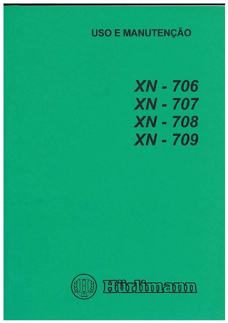XN 706-707-708-809 - Uso e Manutenção