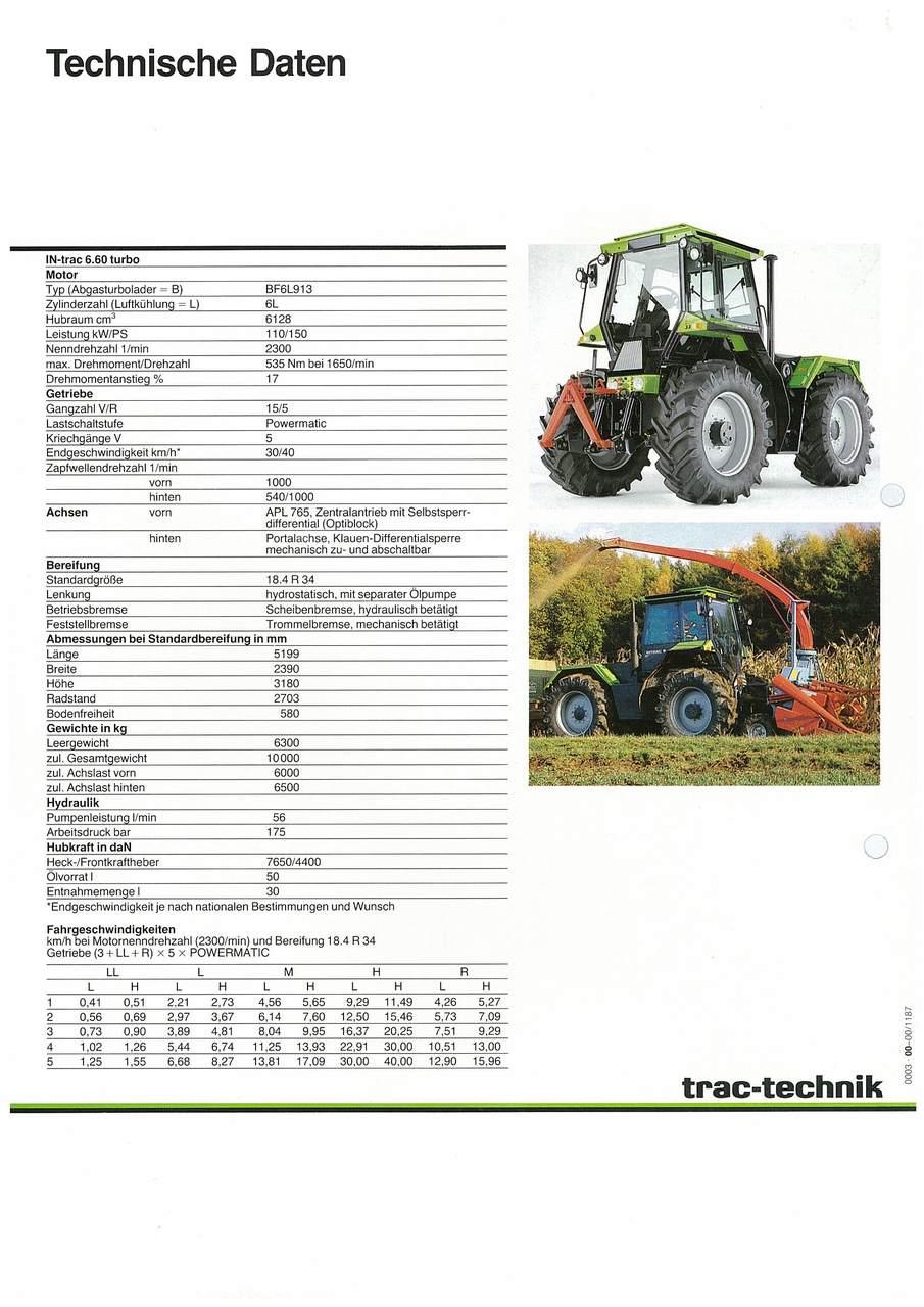 TRAC-TECHNIK INTRAC 6.60 turbo