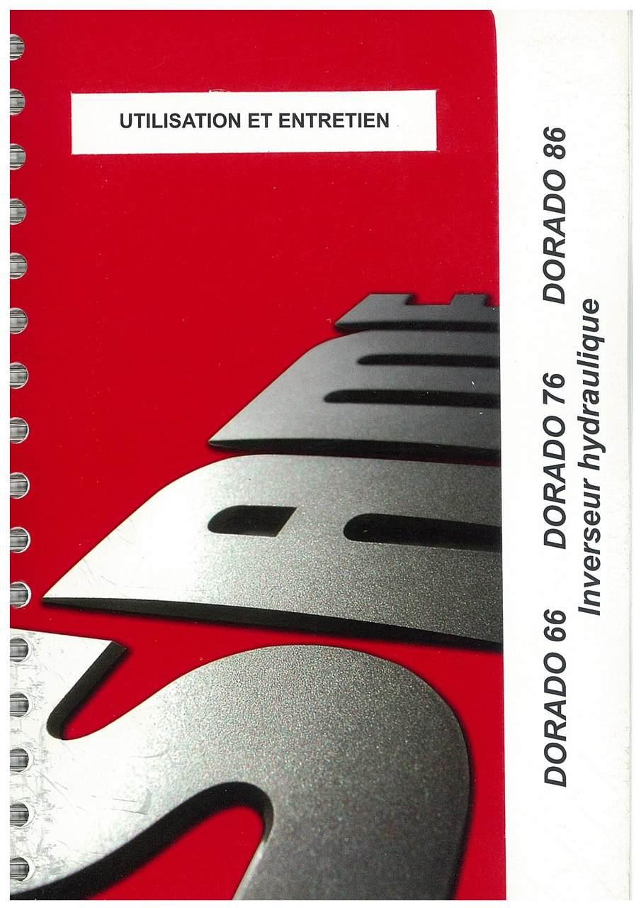 DORADO 66 - 76 - 86 Inverseur hydraulique - Utilisation et entretien