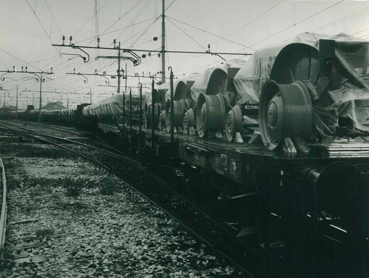 Trattori Same in partenza per il Sudafrica