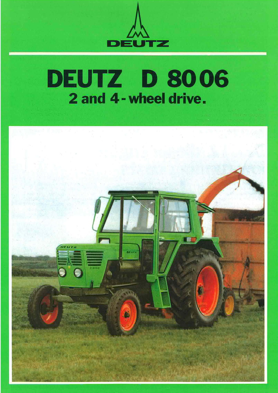 D 8006 2 and 4 wheel drive