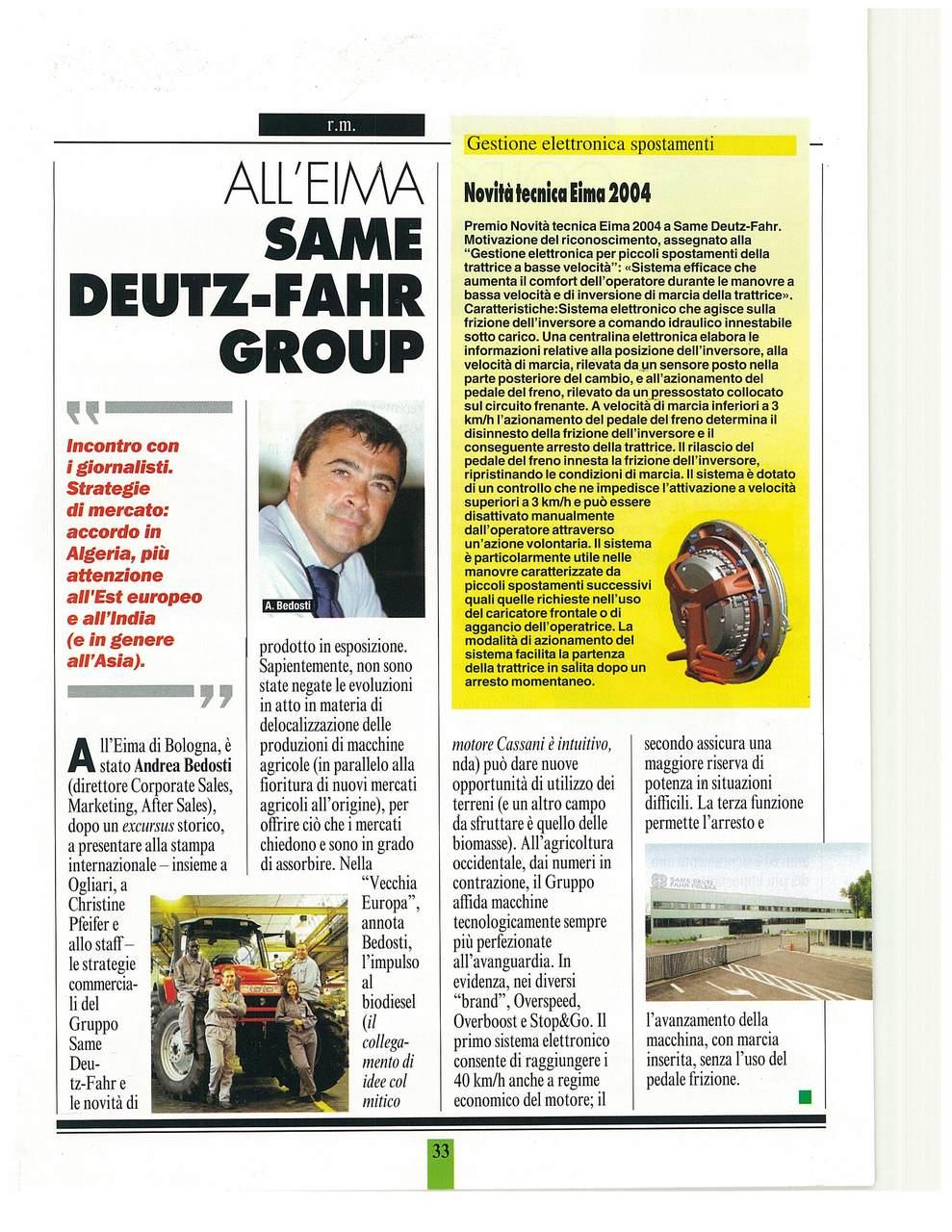 SAME Deutz-Fahr group