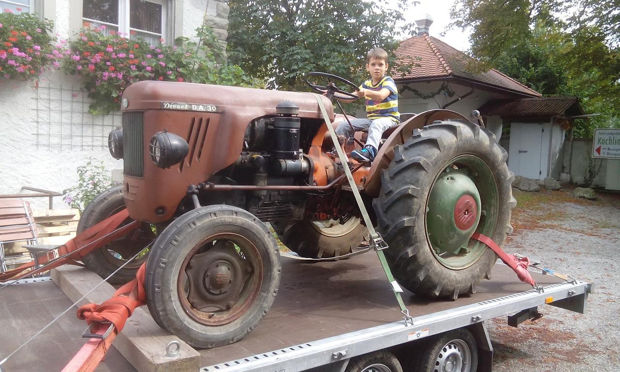 Trattore SAME DA 30 Diesel in Germania