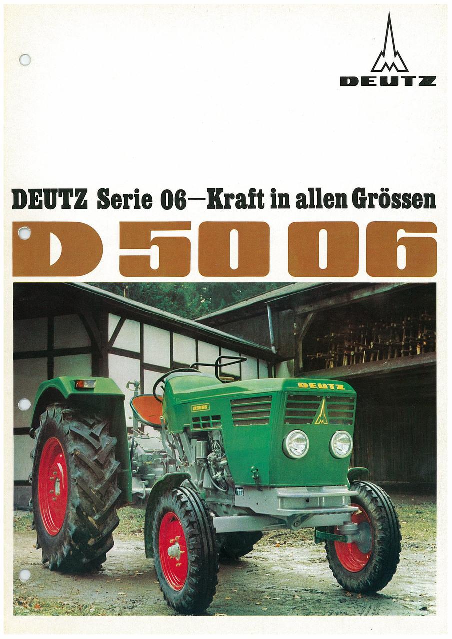 DEUTZ D5006 - KRAFT IN ALLEN GRÖSSEN