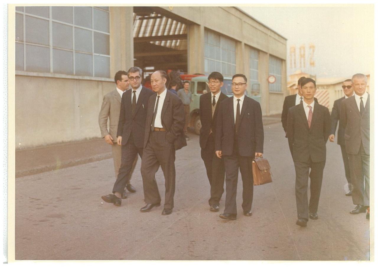 Visita allo Stabilimento Same dei Sigg. YOSHIKUNI KISHIDA ed EIICHI SUMIYA - Giappone