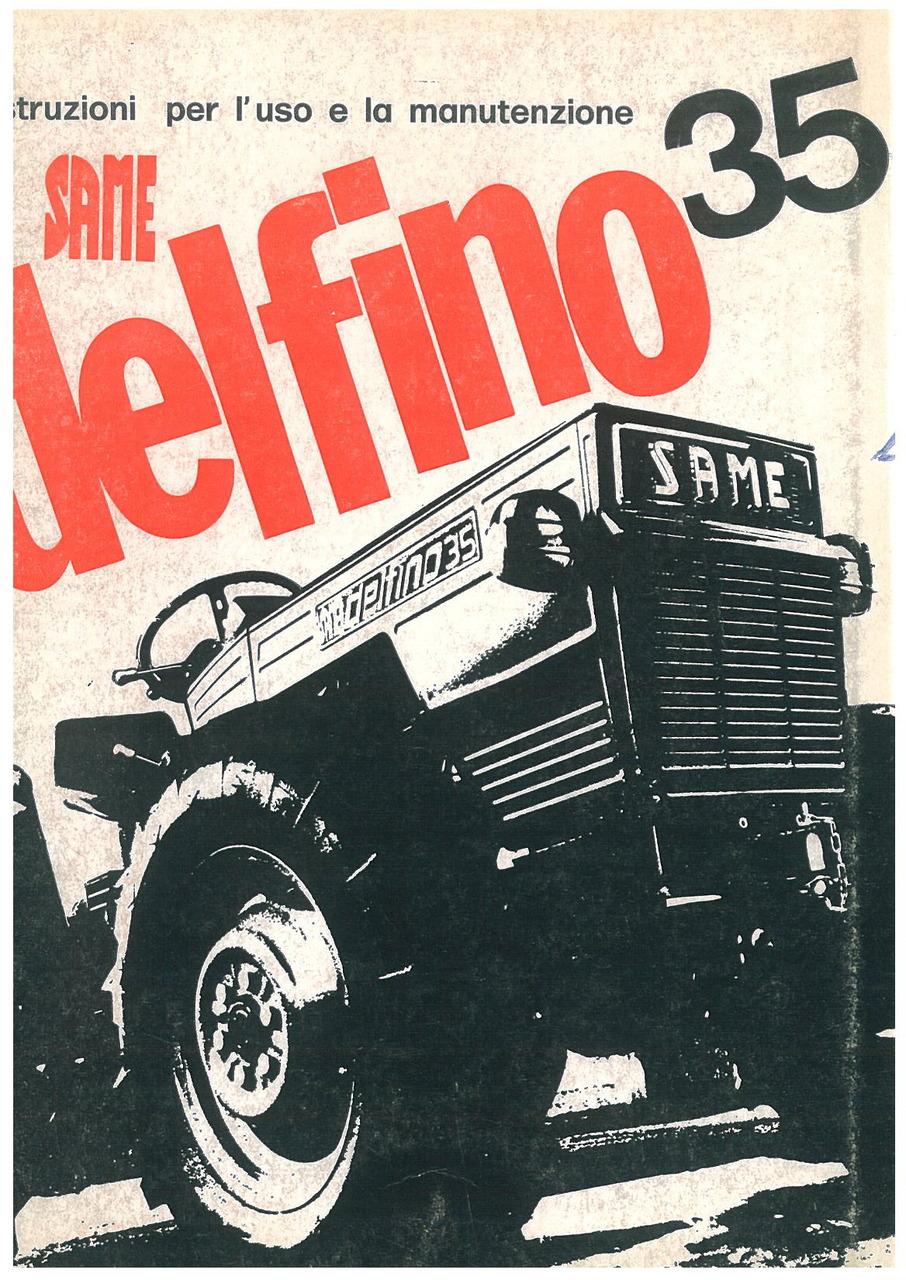 DELFINO 35 - Libretto uso & manutenzione