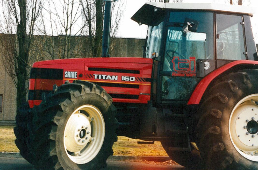 Trattore SAME Titan 160