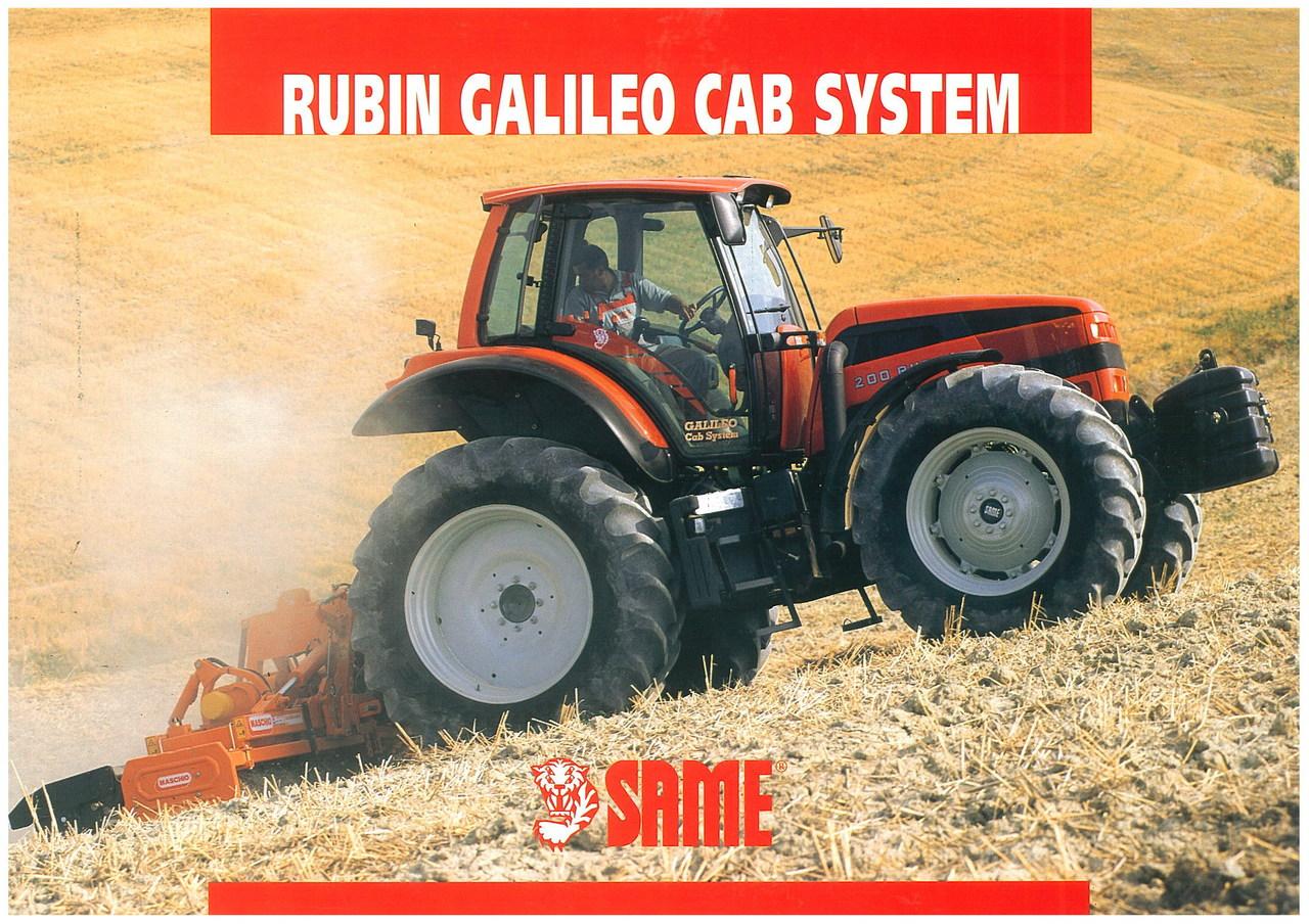 RUBIN GALILEO Cab System