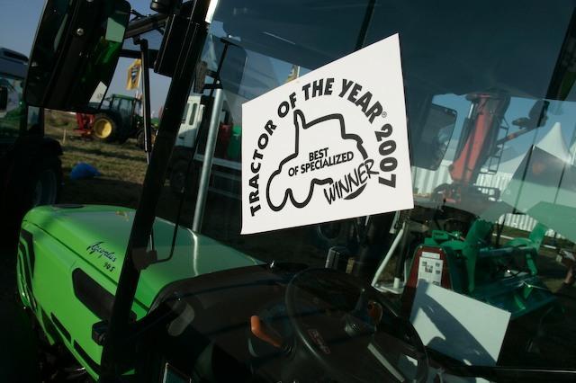 [Deutz-Fahr] trattore Agroplus 90 S miglior specializzato 2007