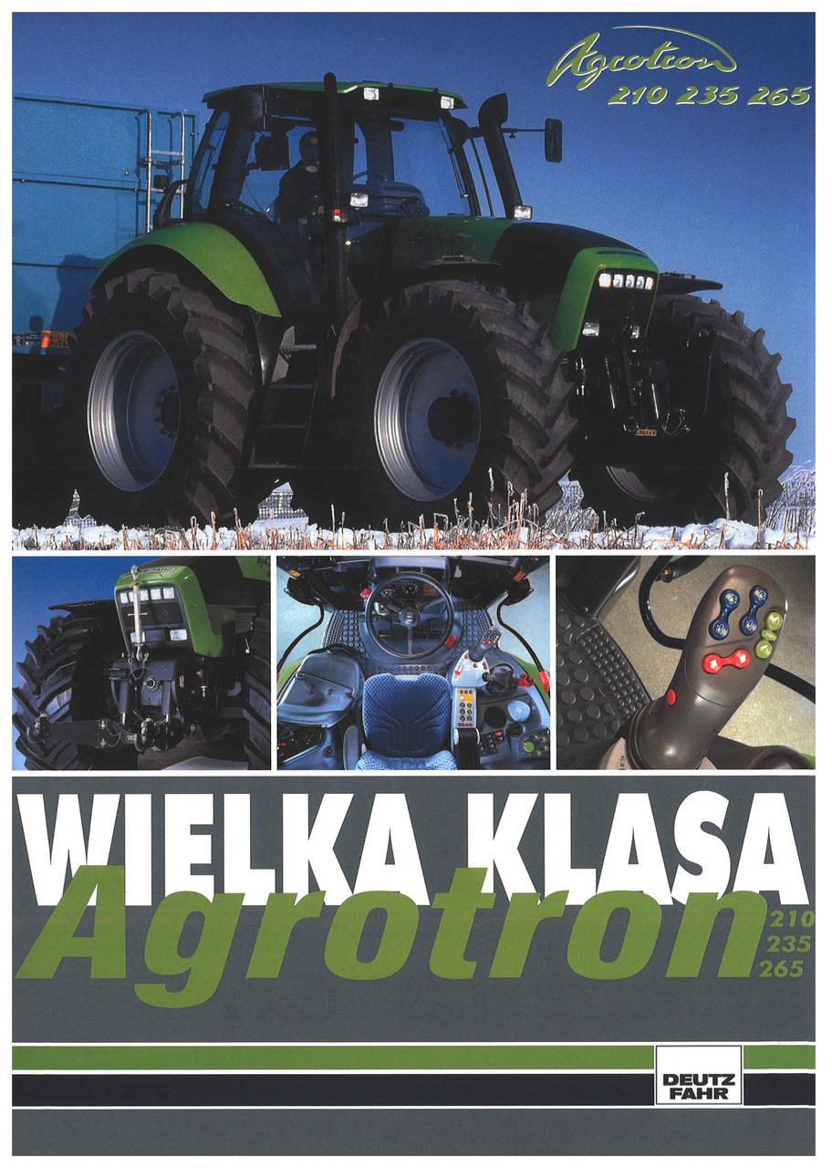 AGROTRON 210 - 235 - 265
