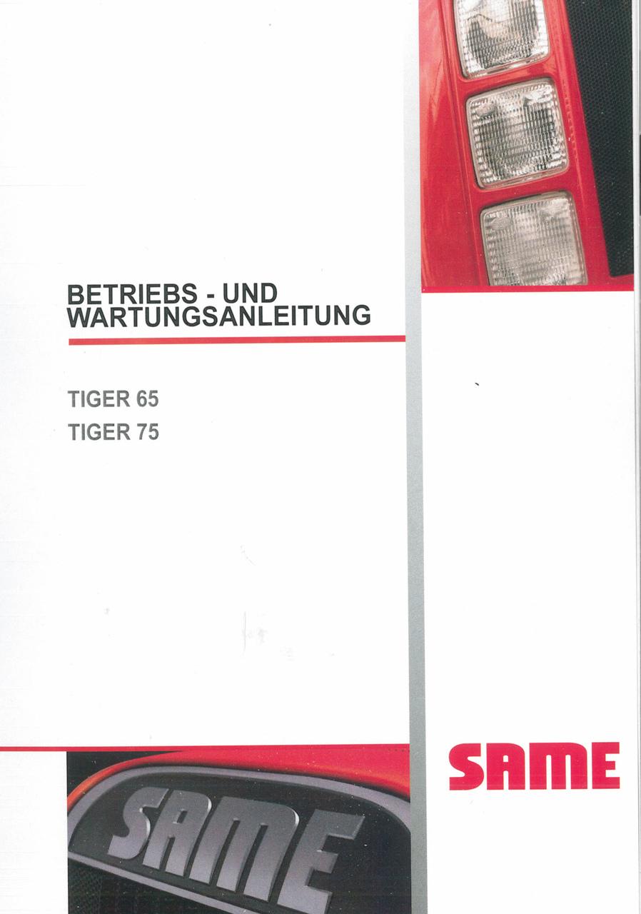TIGER 65 - TIGER 75 - Betriebs - und Wartungsanleitung