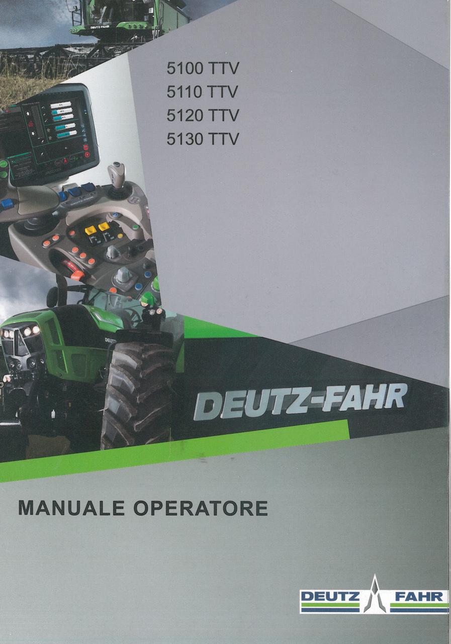 5100 TTV - 5110 TTV - 5120 TTV - 5130 TTV - Manuale operatore