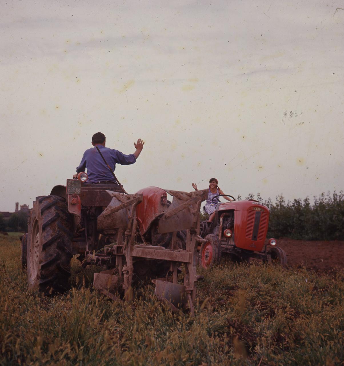 [SAME] trattore 360 - Foto utilizzata per campagna pubblicitaria (1964)