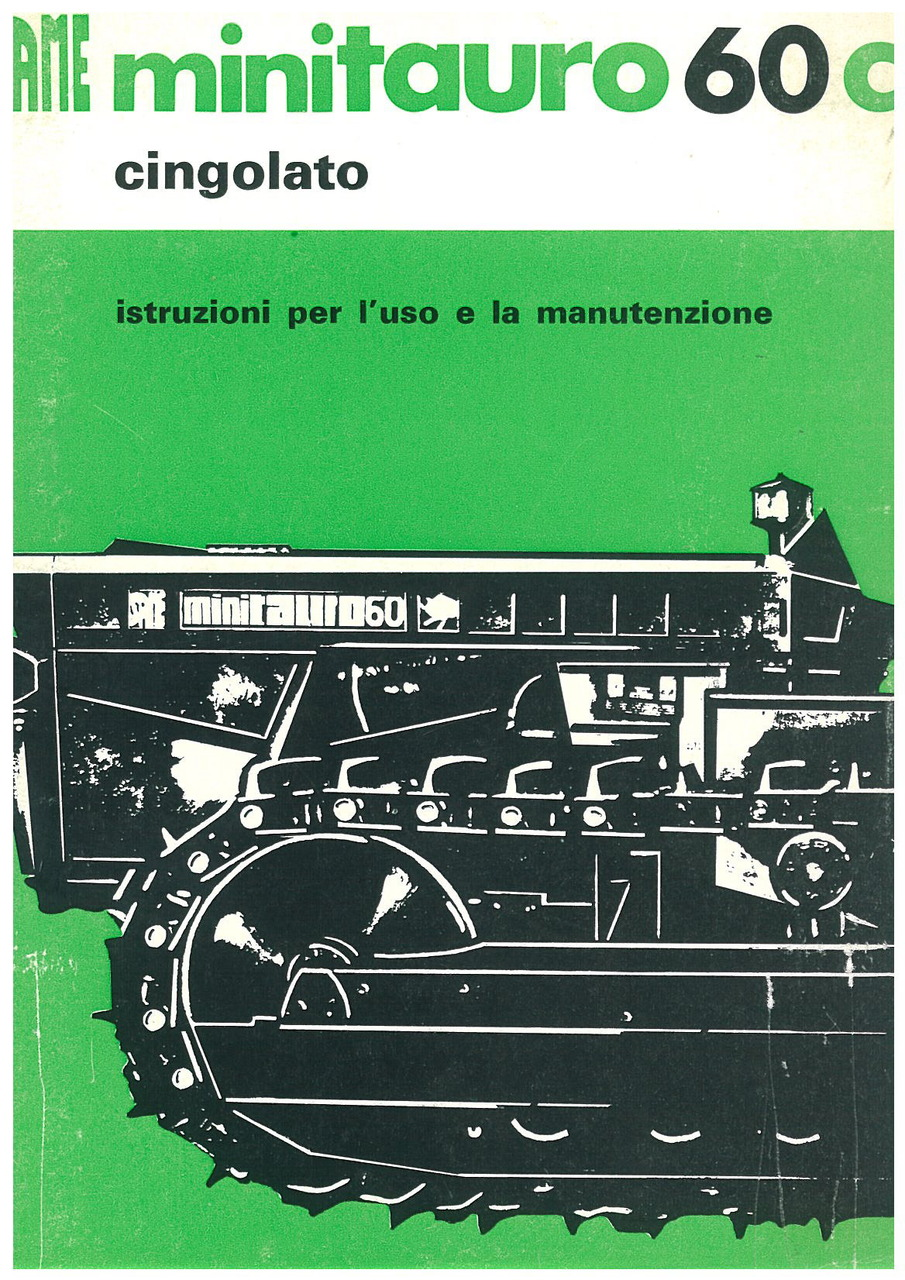 MINITAURO 60 C - Libretto uso & manutenzione