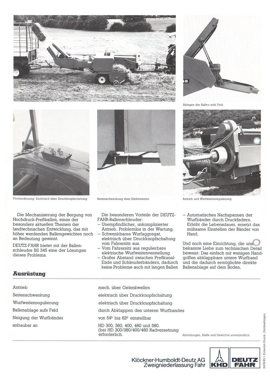 BALLENSCHLEUDER BS 345